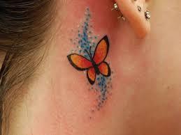 25 beautiful butterfly tattoos on neck inspiringmesh