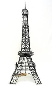 Eiffel Tower Room Decor Amazon Com Eiffel Tower Paris France 14 U201d Black Metal Wire