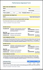 employee evaluation form in pdf free evaluation form pdf 13 hr