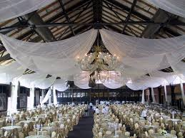 Ceiling Draping For Weddings Vigens Party Rentals Tent Rentals Los Angeles Drapery And