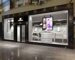 JE Modern High End Jewellery Shop Interior DesignGuangzhou - Modern boutique interior design