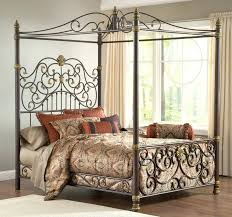 rustic queen bed frame antique painted metal twin bed frame king