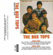 the box tops greatest hits cassette at discogs