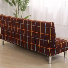 sofa hussen stretch aliexpress buy brown covering for sofa bed universal stretch