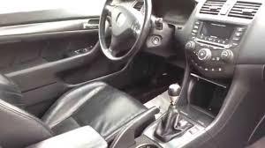 2005 Honda Civic Coupe Interior 2005 Honda Accord Ex 2 Door Coupe V6 Manual W Power Sunroof Just