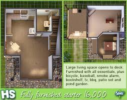 starter home floor plans sims 3 starter home floor plans home photo style