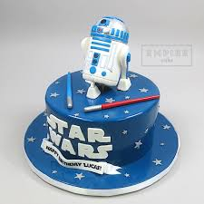 starwars cakes r2 d2 empire cake