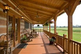 homes with porches log homes with porches using style wood doors