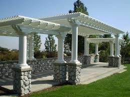 How To Build A Detached Patio Cover How To Build A Freestanding Patio Cover Out Of Wood Home Outdoor
