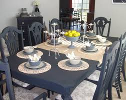 Paint Dining Room Table How To Paint Kitchen Table And Chairs Without Sanding Dining