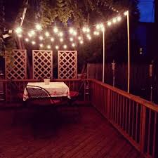 Outdoor Patio Lighting by Diy Outdoor Patio Lights Simply Chic