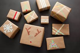 brown gift wrapping paper 18 brown paper christmas gift wrapping ideas stayglam