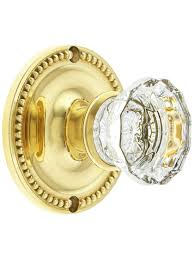 shower glass door knobs cheap price large beaded rosette door set