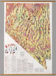 Map Of Nevada And Surrounding States Geologic Map Of Nevada 2687x3686 Xpost R Nevada Mapporn