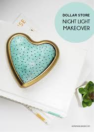 dollar store diy night light homemade ginger