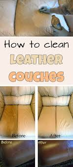 What To Clean Leather Sofa With How To Clean Leather Couches Mycleaningsolutions Clean