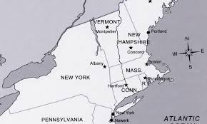 map usa states capitals map usa with capitals throughout of northeast us states and