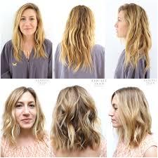 soft under cut hair long hair undercut layers long layers soft waves the salon in la