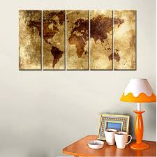 World Map Artwork by Popular Wall Art Canvas Map Buy Cheap Wall Art Canvas Map Lots