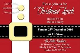 christmas lunch invitation christmas invite party event invitation lunch dinner festive