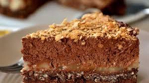 cuisiner des gateaux gâteau crousti fondant chocolat poire recette par une aiguille