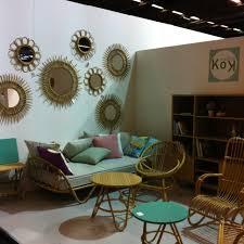 Deco Vintage Pas Cher Ambiance Vintage Dans Ce Salon En Rotin Par Kok Kok Design