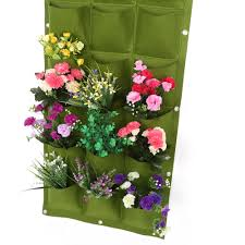 aliexpress com buy 18 15 12 7 pockets vertical vegetable garden