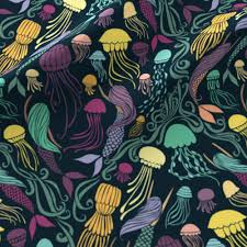 mermaid fabric wallpaper u0026 gift wrap spoonflower