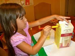 Halloween Milk Carton Crafts by Mom To 2 Posh Lil Divas Back To Fun Milk Carton