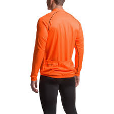 orange cycling jacket canari solar flare cycling jersey for men save 60