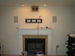 Mounting Tv Over Brick Fireplace by How To Hide Wires Install Tv Above Brick Fireplace Hide Wires