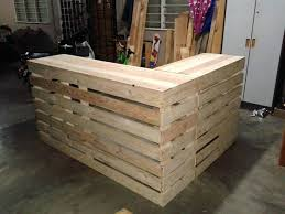 Building A Reception Desk Diy Reception Desk Pallet Desk Counter Or Reception Desk Diy Small