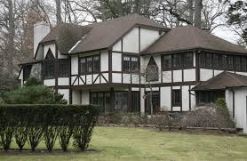 architecture attractive tudor style idea with green comfortable