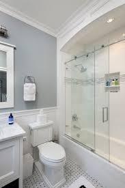 bathroom ideas shower curtain or shower doors