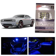 Interior Car Led Light Kits Amazon Com Ledpartsnow Dodge Challenger 2008 U0026 Up Blue Premium