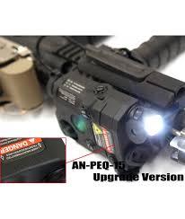 laser and light combo an peq 15 red laser light combo black
