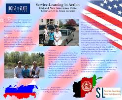 Boise State Campus Map Service Learning Student Exhibition April 26th Service Learning