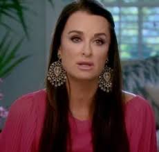 kyle richards hair extensions kyle richards lk designs ojai earrings as seen on the rhobh http