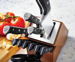 self sharpening kitchen knives sharpening knife block