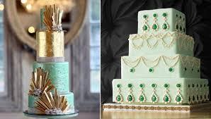 art deco wedding cakes cake geek magazine