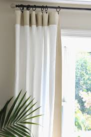 ikea curtains with painted border pretty genius diy diy home