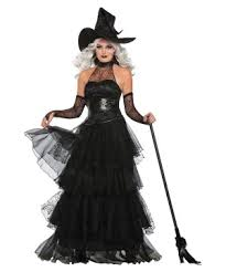 Woman Black Halloween Costume Witch Costumes Halloween Witch Dresses Ages