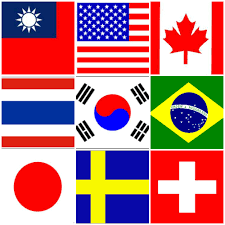 Seoul Flag Students From All Over The World U2013 Lexis Seoul U2013 렉시스 코리아