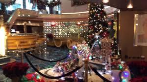 christmas scene on cruise ship youtube