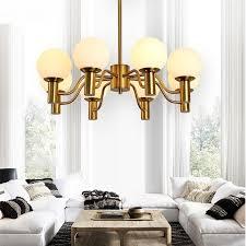 Glass Orb Pendant Light Modern 6 8heads Pendant Light Creative Ls Nordic Dining Room