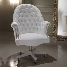 Leather Executive Desk Chair White Leather Desk Chair Office Furniture White Leather Chair