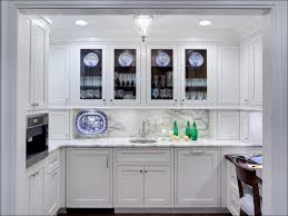 Kitchen Cabinet Door Glass Inserts Cabinet Doors With Glass Fronts Love The Wood And White Cabinets