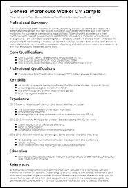 resume exles for warehouse warehouse resume sle luxsos me