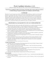 Human Services Sample Resume by Sample Social Worker Resume Objective Contegri Com