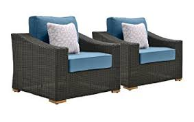 Outdoor Resin Wicker Patio Furniture by Amazon Com La Z Boy Outdoor New Boston Resin Wicker Patio